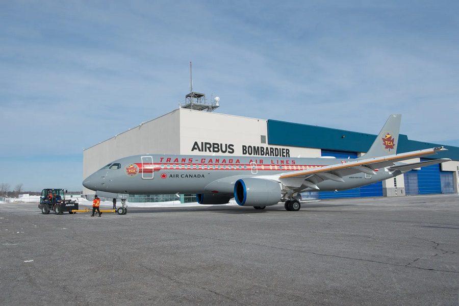 Retro Trans Canada Air A220 Enters Service!