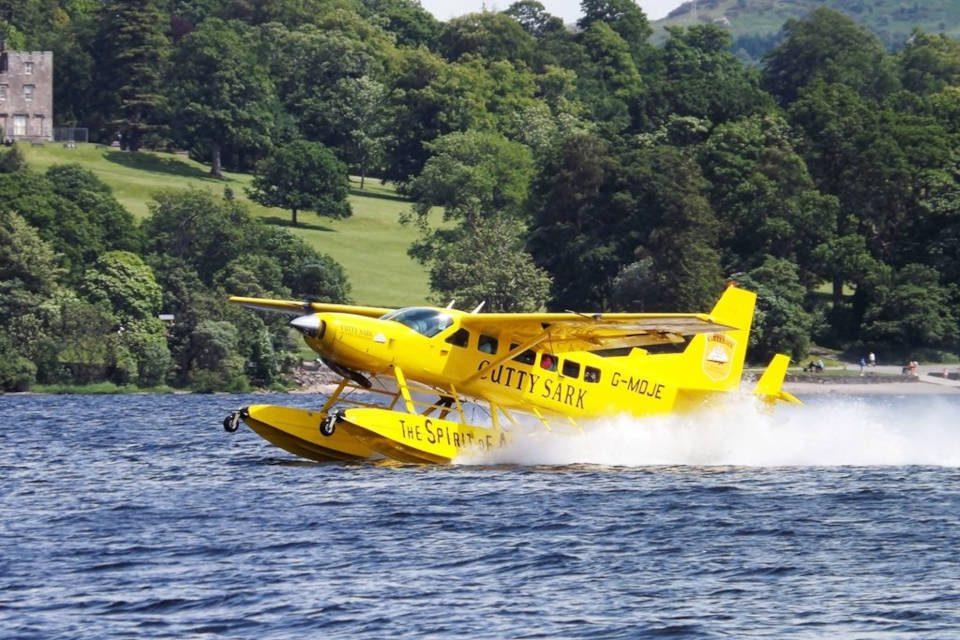 Cessna Caravan Amphibian floatplane