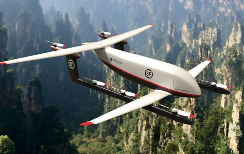 Pipistrel To Build Delivery Drones For SF Express!