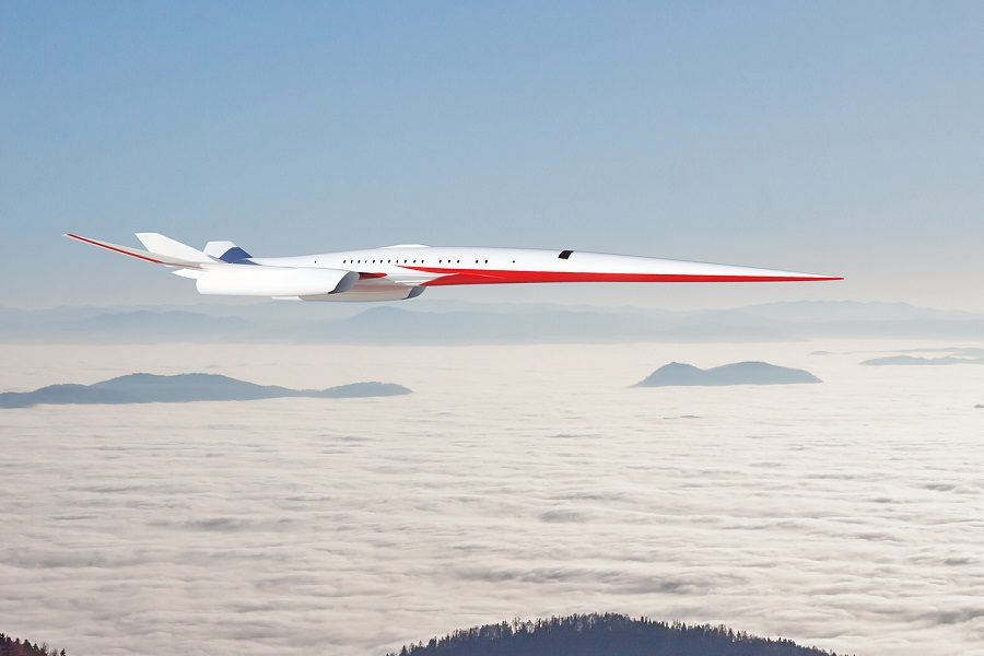 Exosonic – Supersonic Airliner And Presidential Transport?