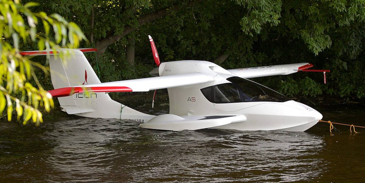 ICON A5 flying boat