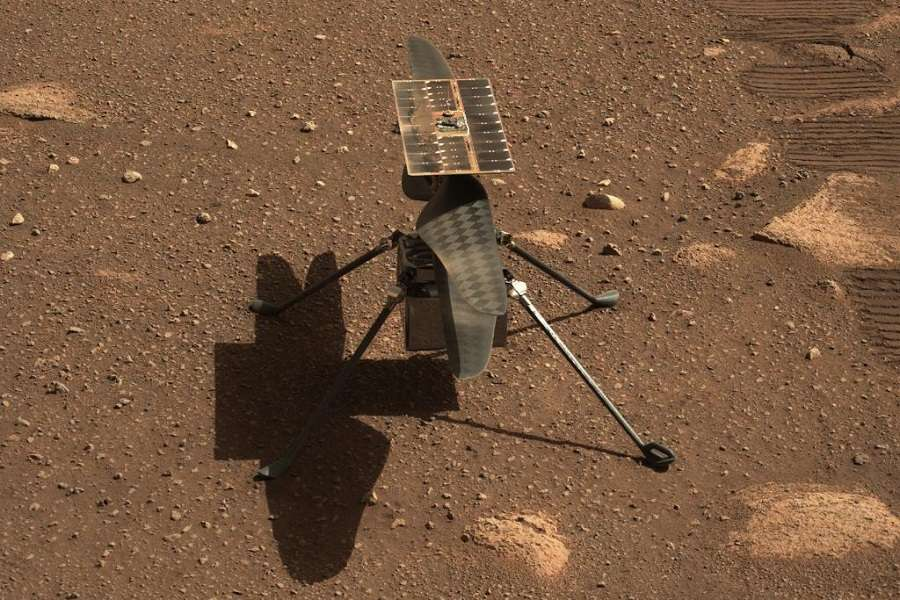 SUCCESS! Mars Helicopter Completes First Test Flight!