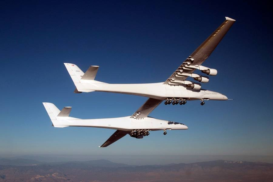 Stratolaunch ROC Back In The Air After 2 Years!