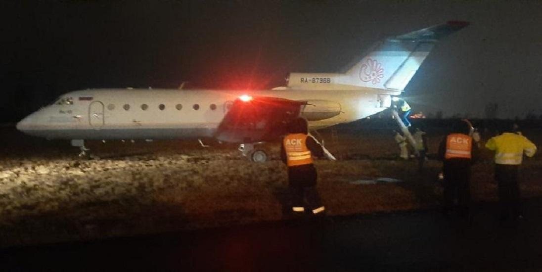 Incident: Vologda Yak-40 Has Runway Excursion
