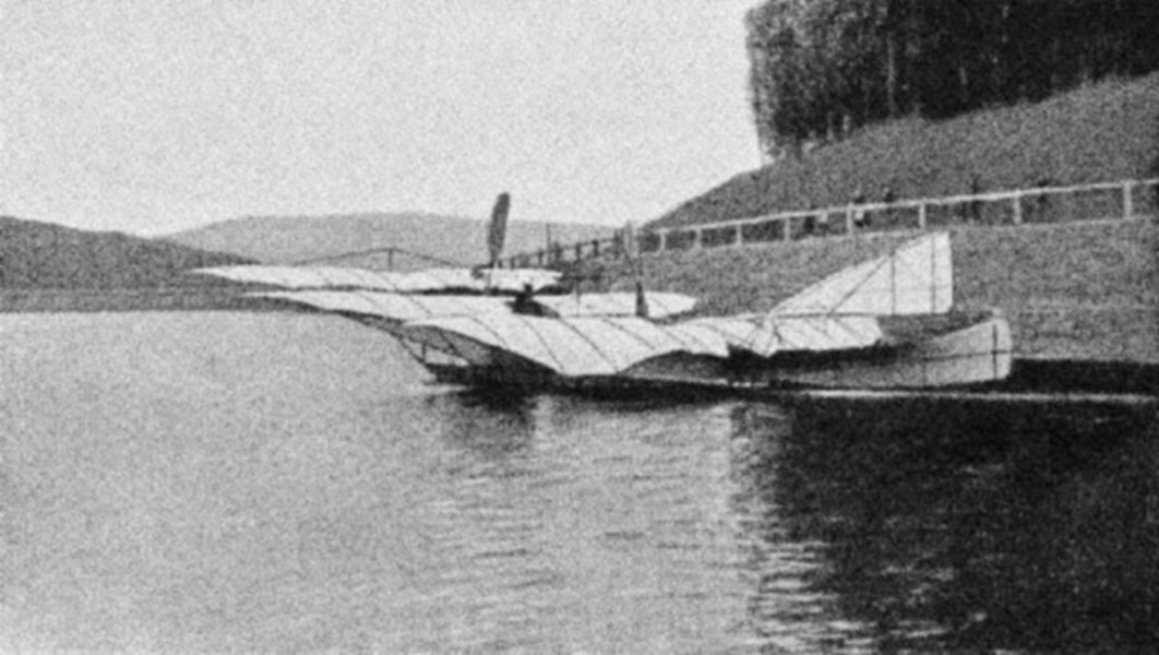 The Drachenflieger flying boat