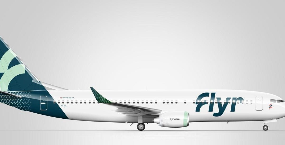 First (?) Flyr Boeing 737 Breaks Cover In Ireland!
