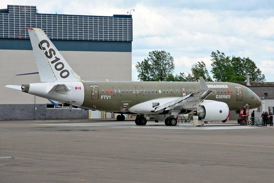 Airbus Repurposes A220 Prototype As A Cabin Display