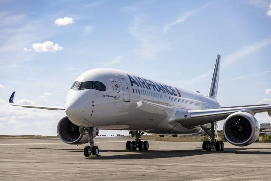 SAF – Air France Transatlantic Flight With Cooking Oil!