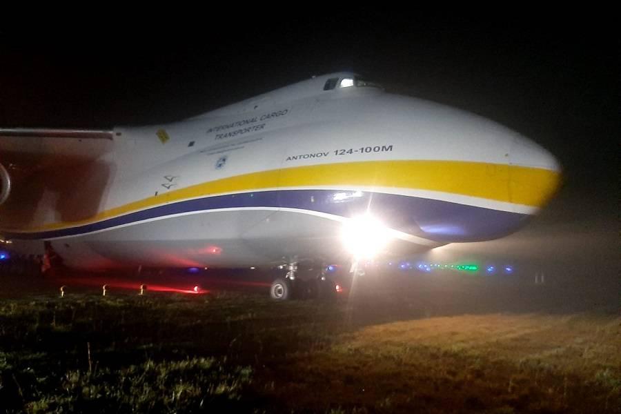 Antonov An-124 Overran Runway in São Paulo!