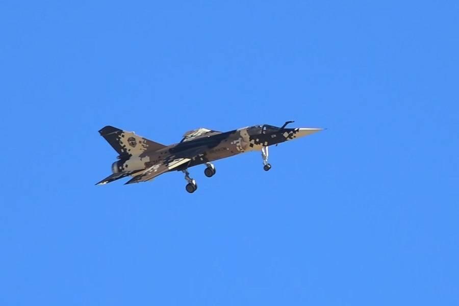 Draken Mirage F1 Crashes Near Nellis AFB In Las Vegas