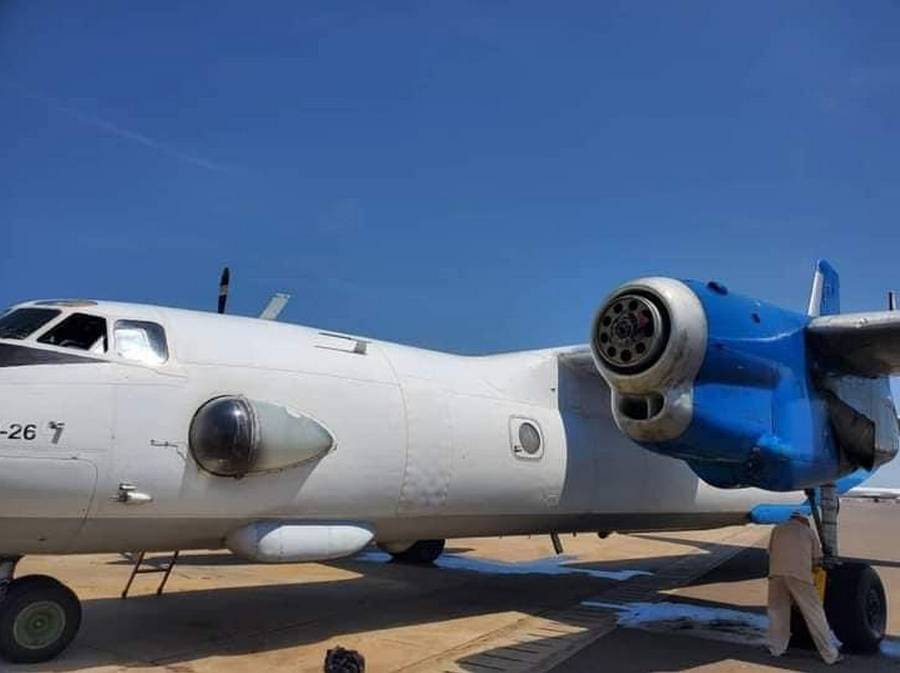 """""""It Is Something Normal!"""": Unknown An-26 Loses Propeller"""
