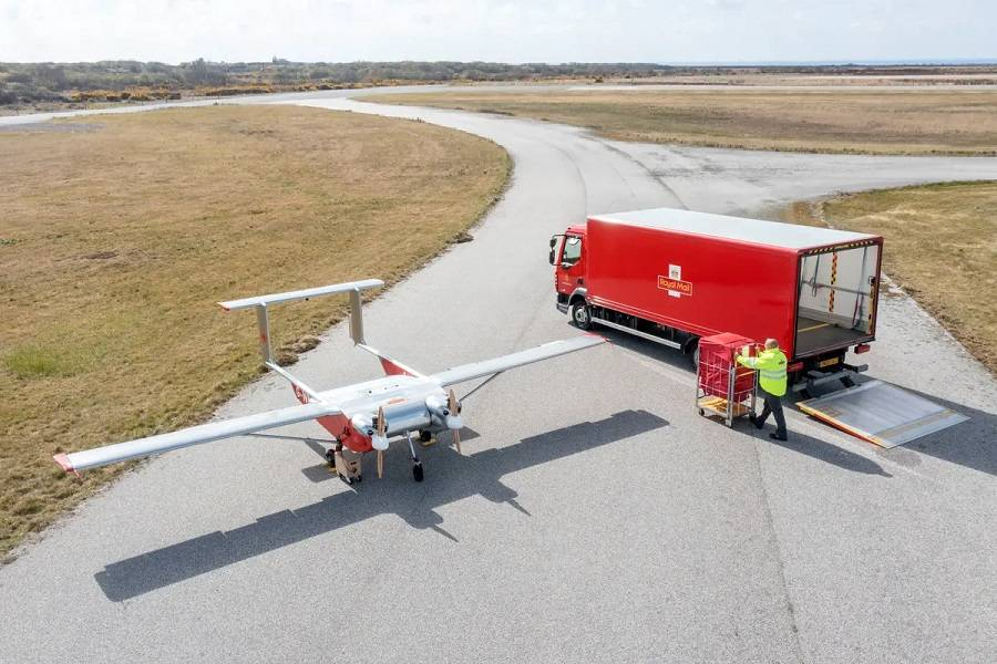 Royal Mail: Windracers Drone For Package Deliveries?