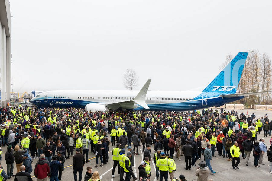 737 MAX-10 About To Have Its First Flight?