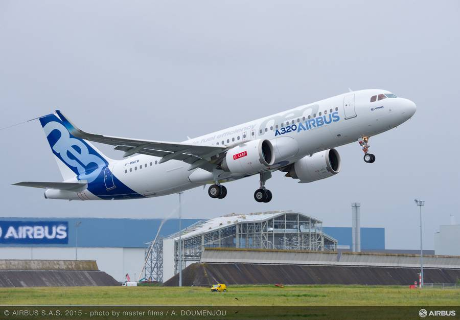 Airbus Will Try 100% SAF Flights With Single-Aisles