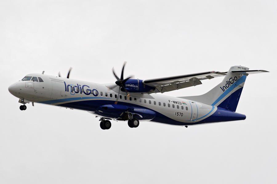 INCIDENT: IndiGo ATR-72 Bursts Tyres In Balked Landing