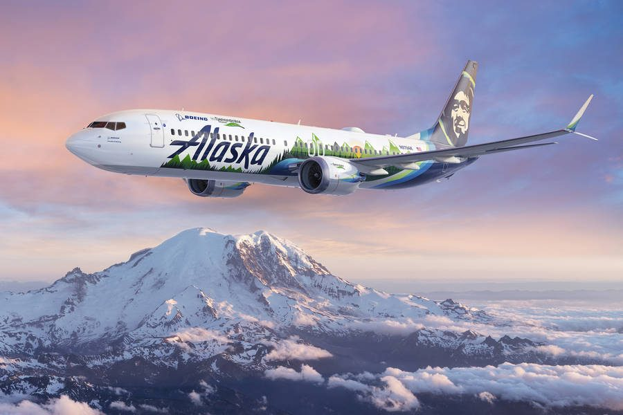 ecoDemonstrator – Boeing Uses Alaska MAX For Research