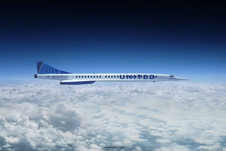 United Airlines Signs Deal For 50 Boom Supersonic Jets!