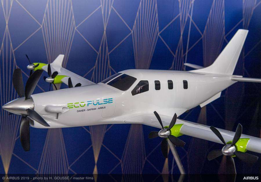 Airbus EcoPulse – Wind Tunnel Testing Completed
