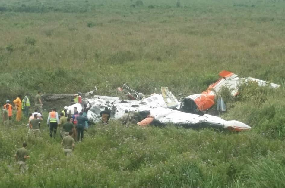 Kin Avia Turboprop Crashes On Takeoff With No Survivors