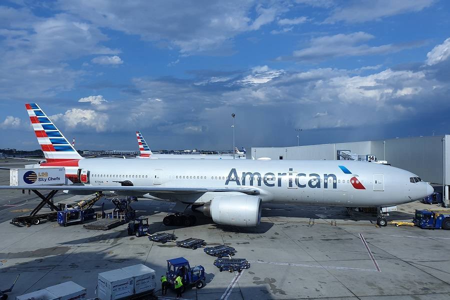 Water Supply Causes American Airlines Return To DFW!