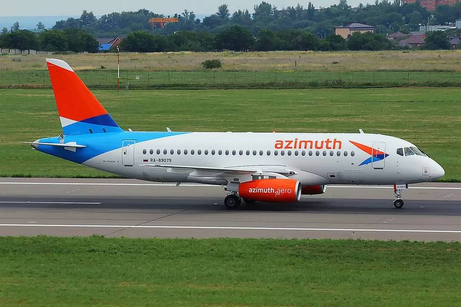 All SSJ100-Fleet Azimuth Airlines, Orders Airbus A220s!