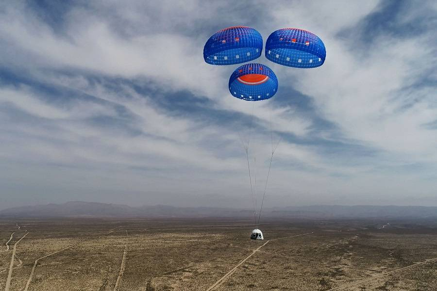 Jeff Bezos and Blue Origin Fly To Space