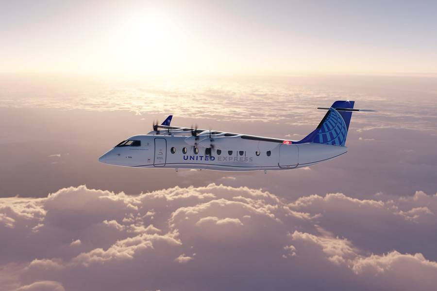 United & Mesa Airlines To Buy 200 Electric ES-19 Planes