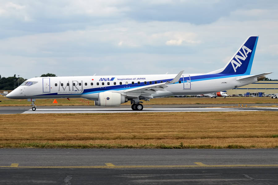 Mitsubishi: What's Going On With The CRJ700 Series?