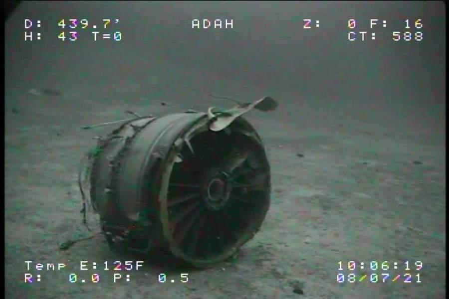 NTSB – Sea Floor Images of Transair Crash Published