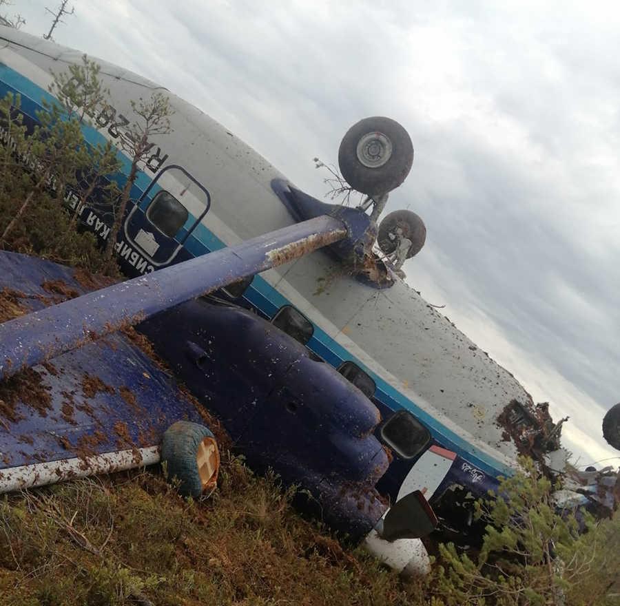 ACCIDENT: SILA Antonov An-28 Crash-Lands In Siberia