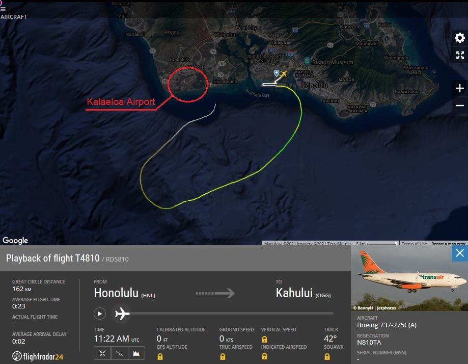 CRASH: Transair 737 Ditches Into The Ocean Off Honolulu