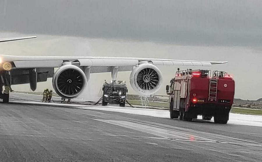 INCIDENT: UPS 747 Returns For Landing With Engine Fire