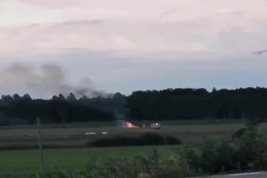 Skydiving Plane Crash In Sweden With No Survivors
