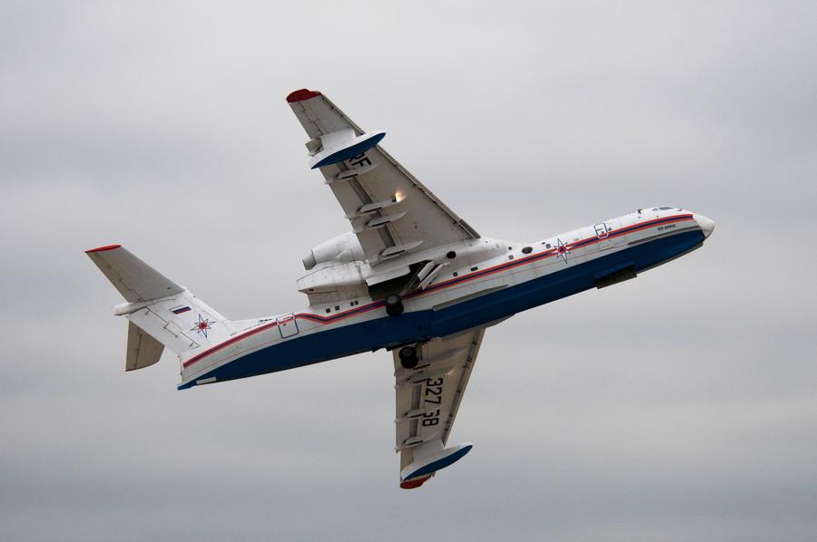CRASH: Beriev Be-200 With 8 On Board Is Lost In Turkey