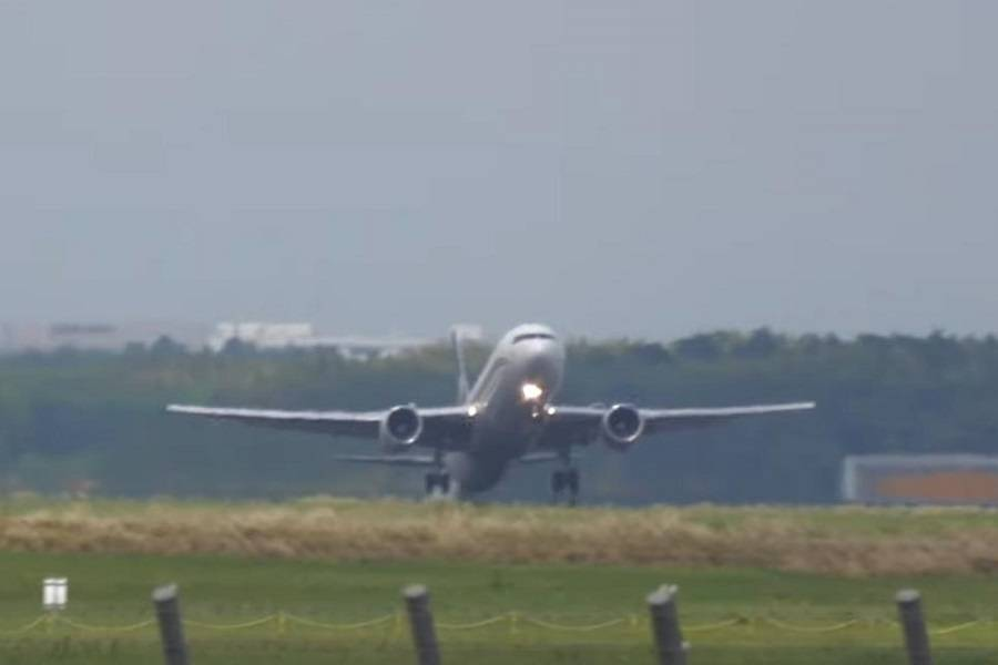 INCIDENT: Cargojet 767 Had Tail Strike, And Flew On!