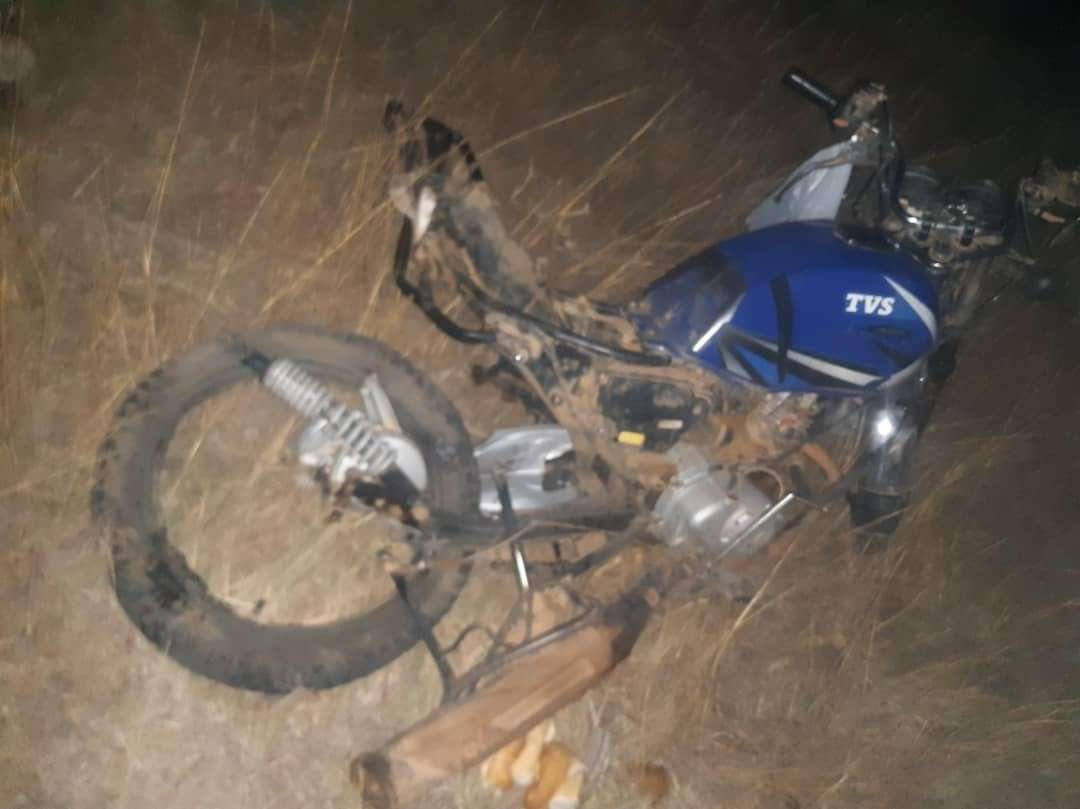 ACCIDENT: Landing Q400 Strikes Motorbike On Runway