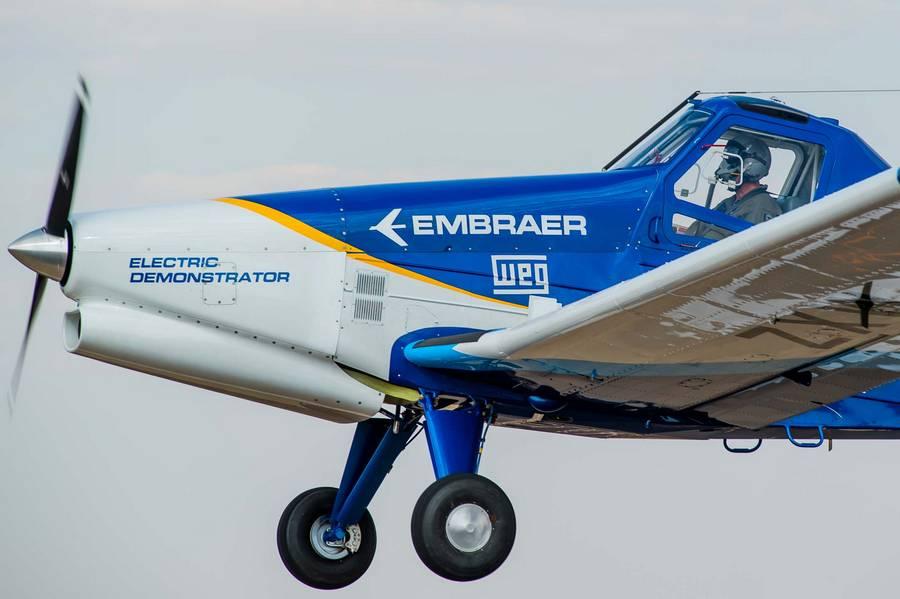 Embraer Electric Demonstrator Makes First Flight