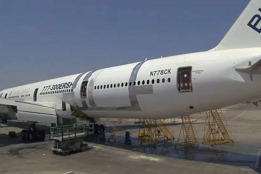 IAI 777-300ERSF Conversion – Time To Cut Some Metal!