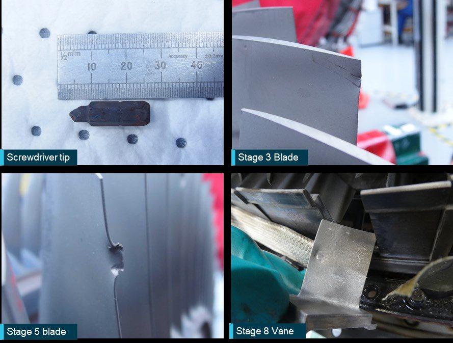 Screwdriver Tip Screws Up A320 Engine On Take-off!