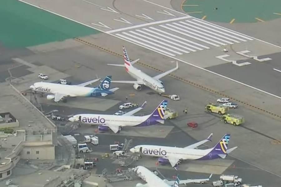 INCIDENT: Burbank Airport Ground Collision