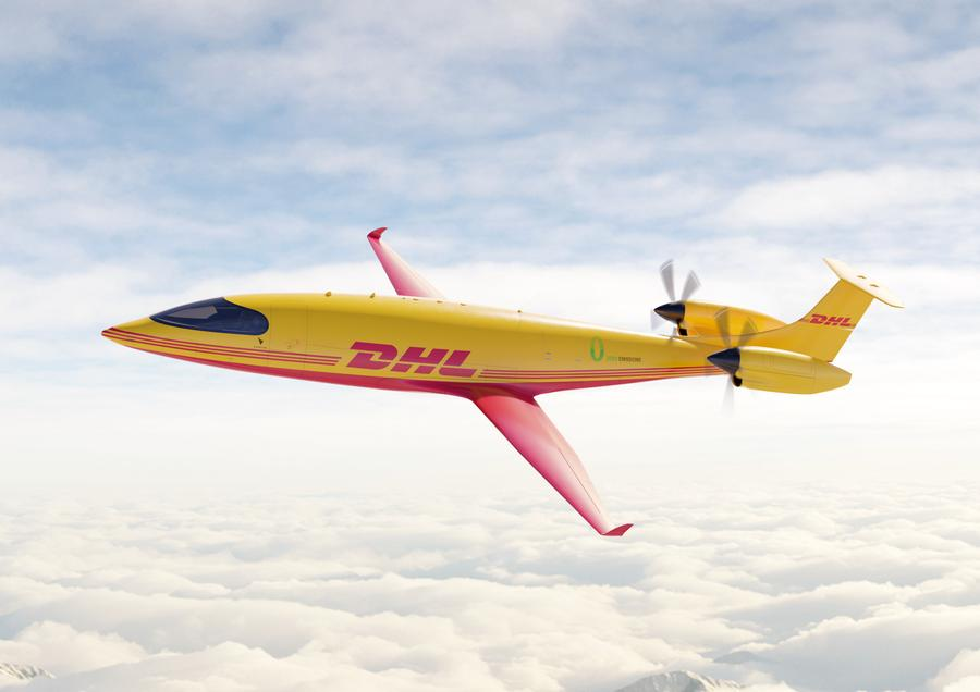 DHL Orders Eviation Alice 'eCargo' Electric Aircraft!