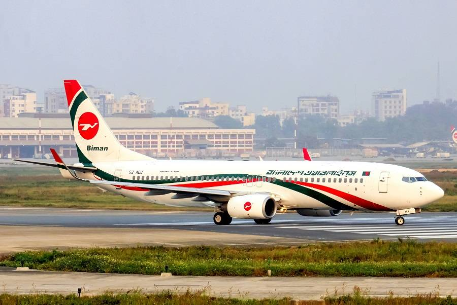 INCIDENT: Biman 737 Captain Incapacitated