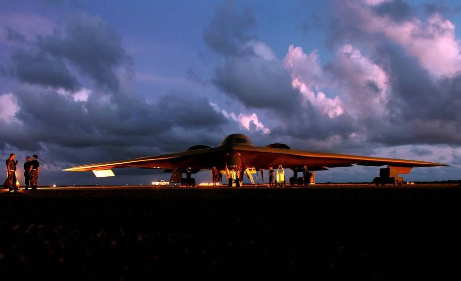 INCIDENT: B-2 Bomber Off-Runway After Air Emergency