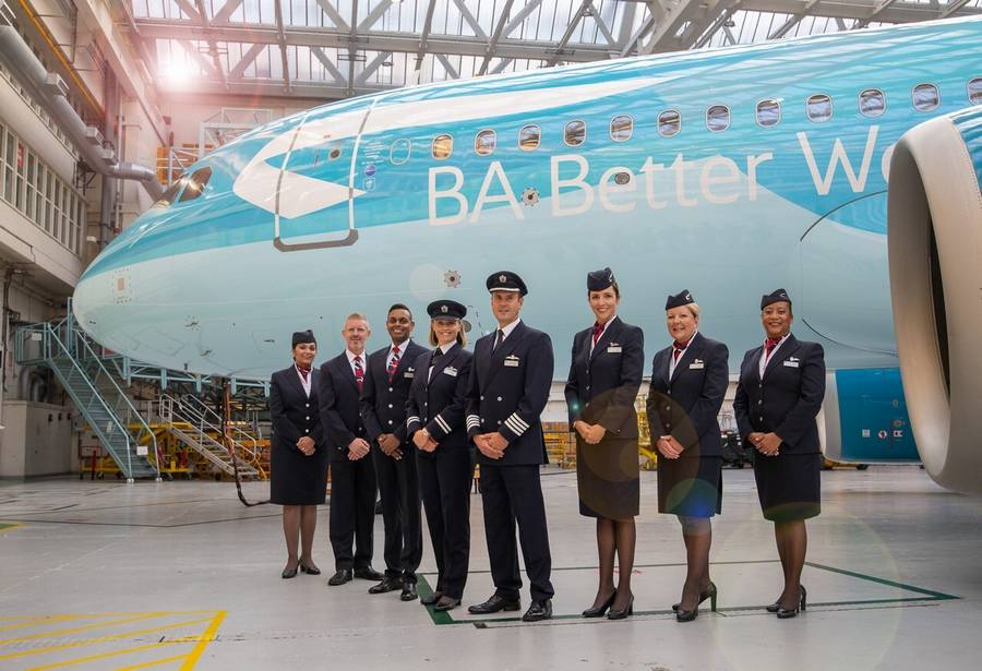 Special BA Livery – Passengers Pay For SAF Initiative