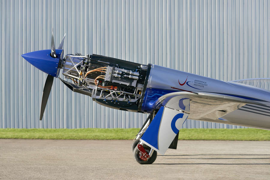 All-Electric Rolls-Royce Race Plane Has First Flight!