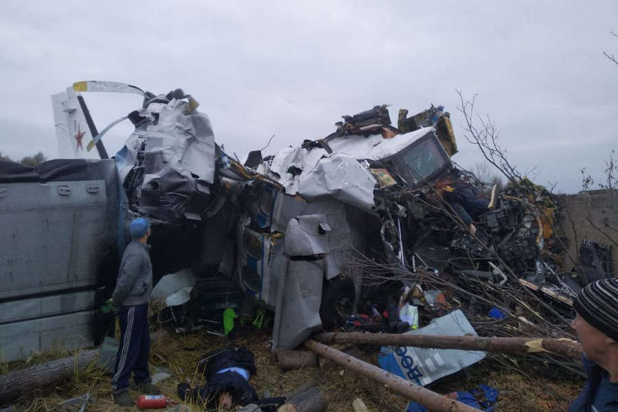 CRASH: Russian L-410 Goes Down With Parachutists