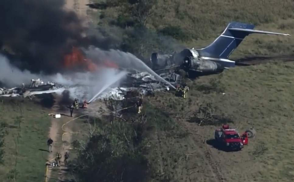 CRASH – Privately-Owned MD-87 Destroyed On Take-Off
